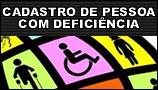 Cadastro de deficientes