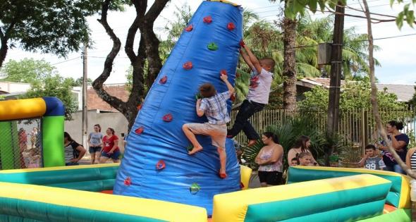Festa do dia das Crianças em Matelândia