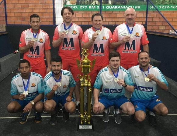 Equipe de Bocha de Matelândia é Campeão Paranaense