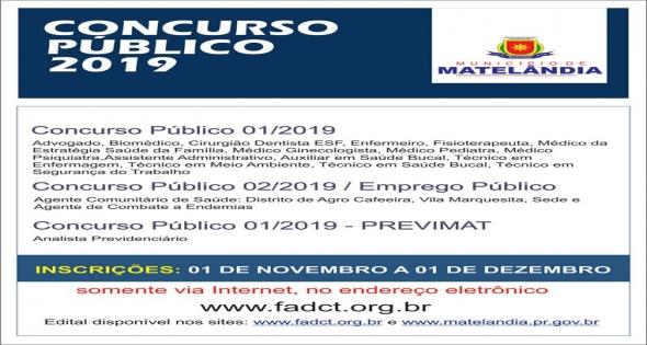 Concurso Público 2019.