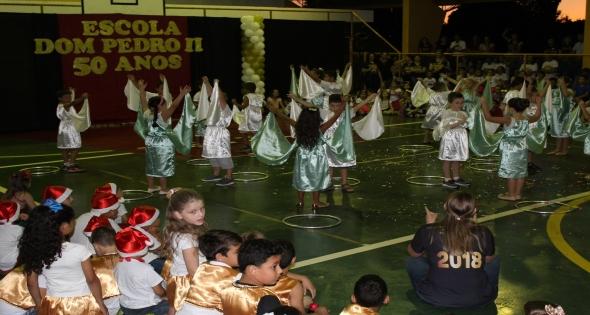 IV Noite Cultural da Escola Municipal Dom Pedro II