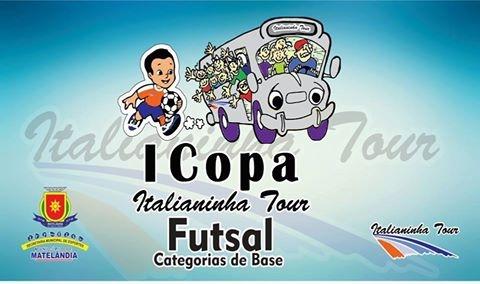 Primeira copa Italianinha de futsal