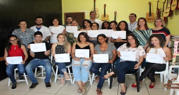 SENAC entrega certificados em Matelândia