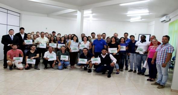 Entrega Certificados Curso Bom Negócio Paraná