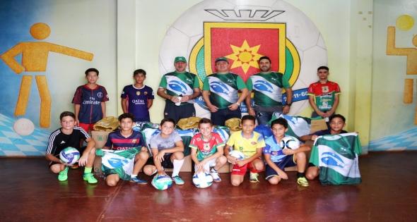 Matelândia é contemplada com mais de 60 kits Esportivos