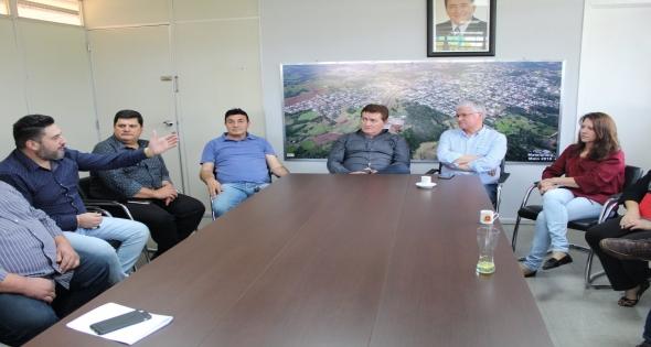 Deputado Federal Valdir Rossoni Visita Matelândia