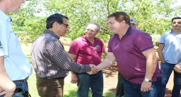 Matelândia recebe a visita do Secretario de Água e Energia da ONU