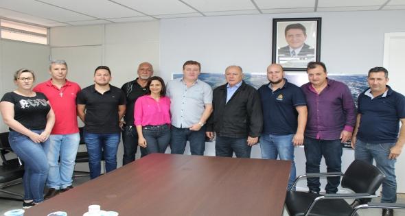 Visita do Deputado Estadual José Carlos Schiavinato