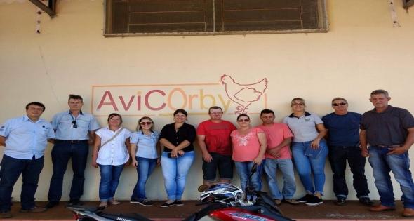 Técnicos da Secretaria de Agricultura e Pecuária visitam Corbélia
