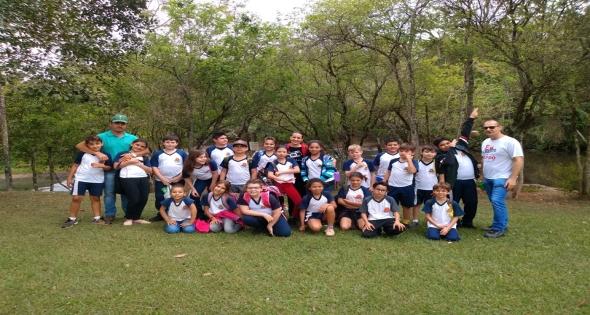 Escolas Municipais de Matelândia visitam os limites do município