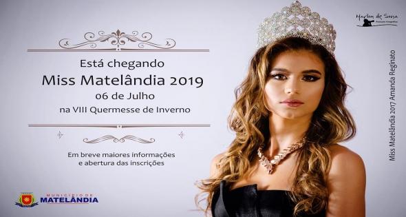 Miss Matelândia 2019