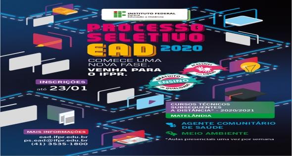 Cursos com vagas abertas para 2020 em Matelândia.