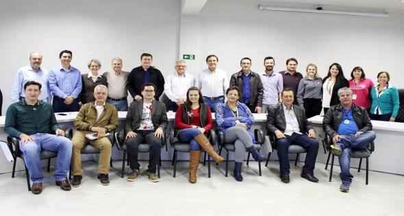 Reunião no Cisi para discutir sobre a Saúde dos Municípios