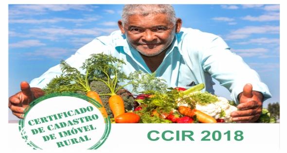 Proprietários de imóveis rurais já podem emitir CCIR 2018