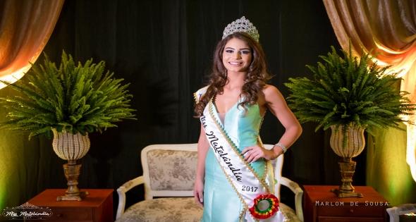 Amanda Reginato é a Miss Matelândia 2017
