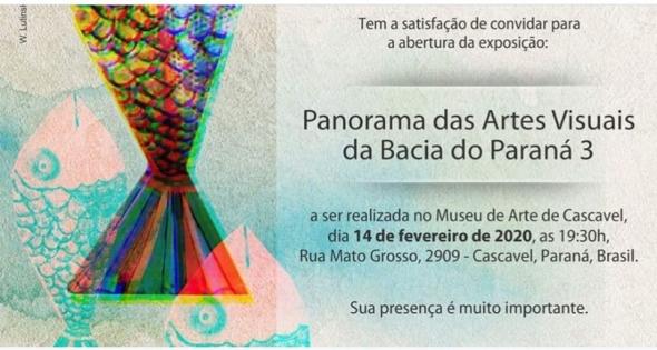 Exposição Panorama das Artes visuais da Bacia do Paraná 3