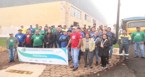 Ações estão sendo realizadas junto ao Bairro Vila Nova