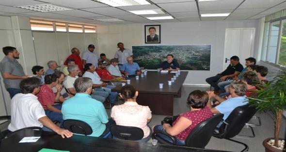 Reunião com Moradores das comunidades São Roque e Xaxim