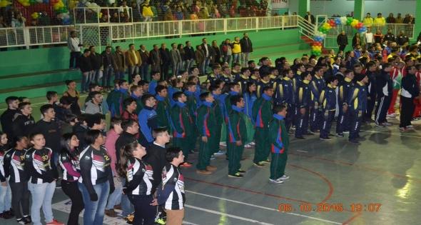 Abertura 59ª Edição dos Jogos Abertos do Paraná - Fase Regional