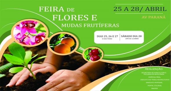 Feira de Flores e Mudas Frutíferas dias