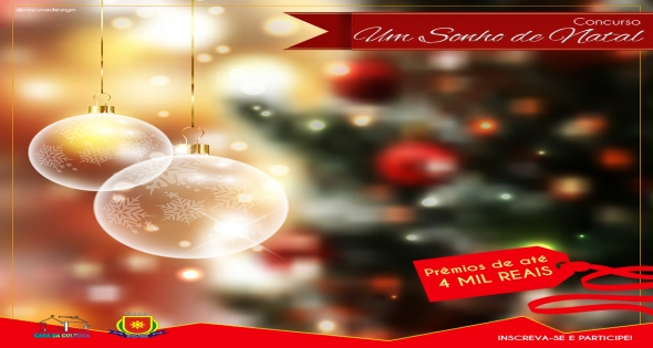 Abertas as inscrições para o Concurso Um Sonho de Natal
