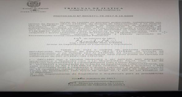 Autorizada a construção do Novo Fórum de Matelândia