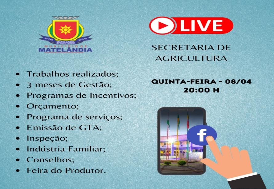 Convite para Live