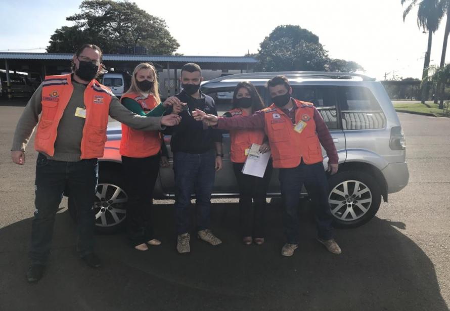 Prefeitura Municipal de Matelândia recebe carro doado pela Itaipu