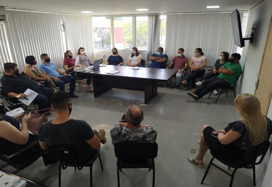 Café com Vereadores no Gabinete do Prefeito.